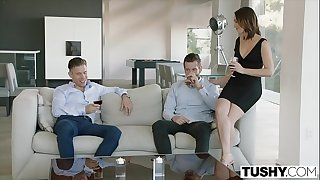 TUSHY Wife Gapes For Her Rod In Law