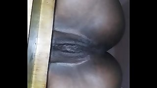 Pretty Seized Pussy Sitting Slurps On A Stool Then Fuck And Creampie Her