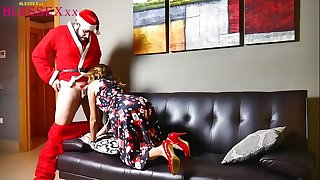 Christmas stories and sex - Magic Javi & Susy Blue