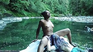 Lesbian Sex Ritual Squirting Voyeur Porn - Coming Briefly - CarlaCain X CandiCain Girl Girl Outdoor Drone Spy River Forest Hiking Hiker Nature
