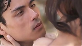 The Story of Us - Xian Lim and Kim Chiu being intimate